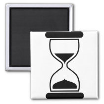 Time Passing By Magnet