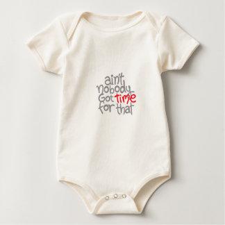 Time Phrase Baby Bodysuit