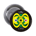 Time Pinback Buttons