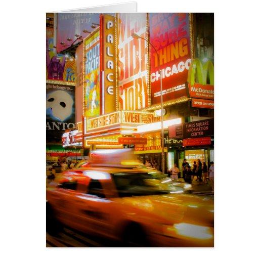 Time Plaza Nueva York Tarjeta De Felicitación