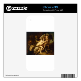 Time Reveals the Truth by Theodoor van Thulden Skins For iPhone 4