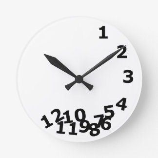 Time Round Clock
