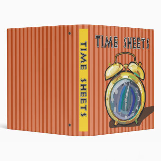 Time Sheets Binder