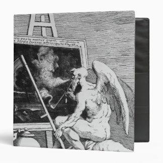 Time smoking a Picture, 1761 Vinyl Binder
