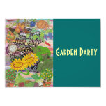 Time Spent in the Garden, Garden Party Invitation