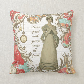 Time Spent With You Throw Pillow