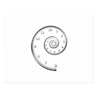 Time Spiral Postcard