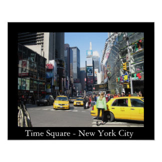 Time Square - New York City Poster