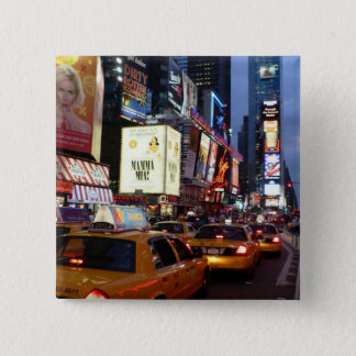 Time Square Taxis Button