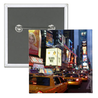 Time Square Taxis Pin