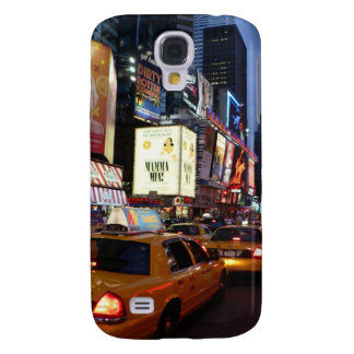 Time Square Taxis Galaxy S4 Cover