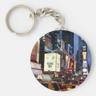 Time Square Taxis Keychain