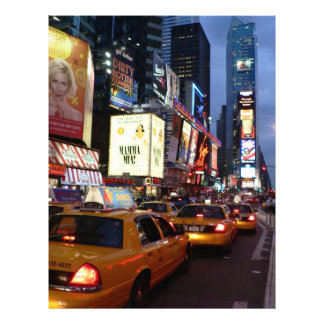Time Square Taxis Letterhead