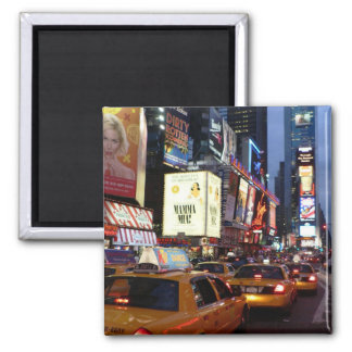 Time Square Taxis Magnet