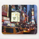 Time Square Taxis Mouse Pad