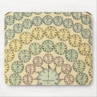 Time Table Mouse Pad