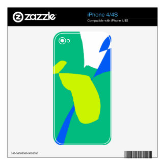 Time Thunders When You Hear the Future Rain Skin For The iPhone 4