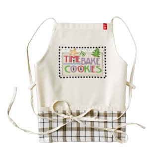 Time to Bake Cookies Apron