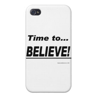 Time to Believe Covers For iPhone 4