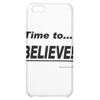 Time to Believe iPhone 5C Cover