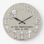 Time To Believe-Little Boy and Clock