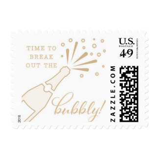 Time to Break out the Bubbly! Postage