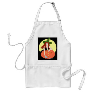 Time to Carve the Pumpkin Adult Apron