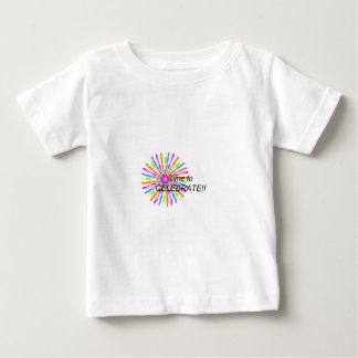 Time to Celebrate Baby T-Shirt