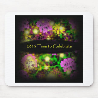time to celebrate rose floral 2013.jpg mouse pad
