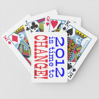 Time to Change! Bicycle Playing Cards