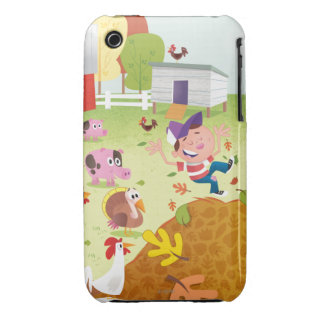 Time to Count - Farmyard iPhone 3 Case-Mate Cases