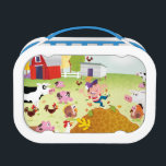 """Time to Count - Farmyard Lunch Box<br><div class=""""desc"""">Artist: Rob McClurkan 