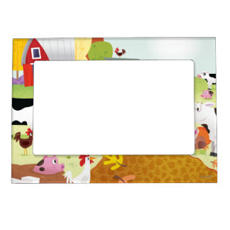 Time to Count - Farmyard Magnetic Picture Frame
