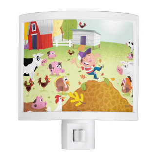 Time to Count - Farmyard Night Light