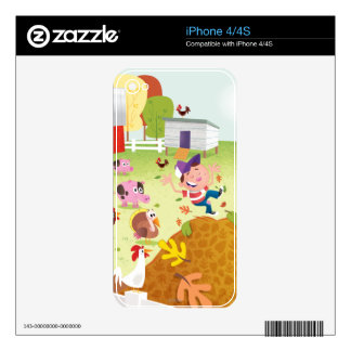 Time to Count - Farmyard Skins For The iPhone 4