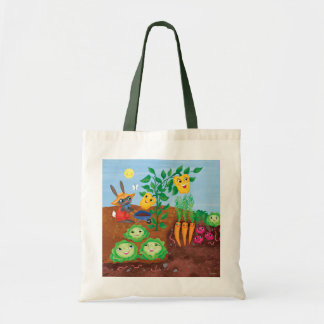 Time To Count-Garden Canvas Bags