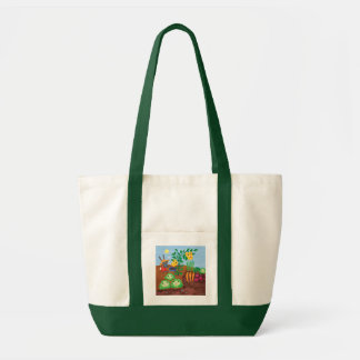 Time To Count-Garden Tote Bags