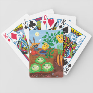 Time To Count-Garden Bicycle Playing Cards