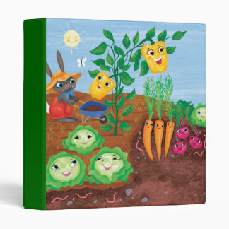Time To Count-Garden 3 Ring Binders