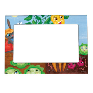 Time To Count-Garden Magnetic Photo Frame