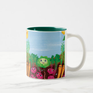 Time To Count-Garden Two-Tone Coffee Mug