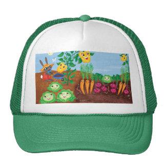 Time To Count-Garden Trucker Hat