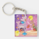 Time To Count-Under the Sea Double-Sided Square Acrylic Keychain