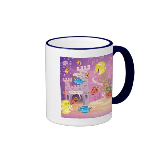 Time To Count-Under the Sea Ringer Coffee Mug