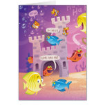 Time To Count-Under the Sea Stationery Note Card