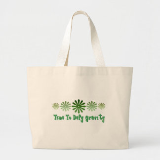 Time To Defy Gravity Large Tote Bag