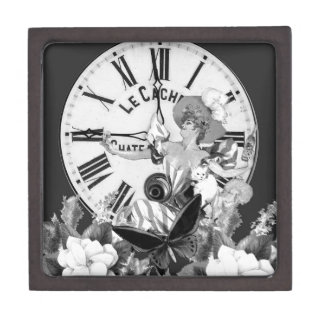Time To Drink Vintage Collage Gift Box