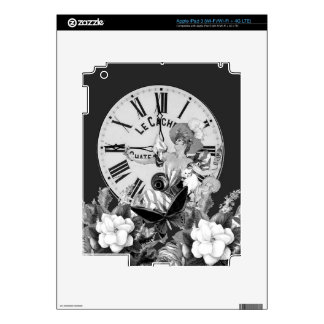 Time To Drink Vintage Collage iPad 3 Decal
