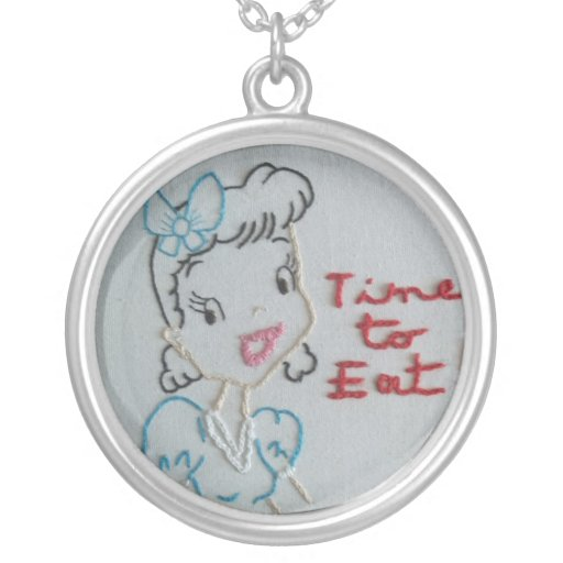 """""""Time to Eat"""" Necklace by Sickly Sweets"""