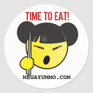 TIME TO EAT! STICKERS